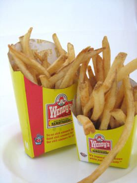 New Wendy's 'Natural-Cut' Fries: Are They Any Healthier ...