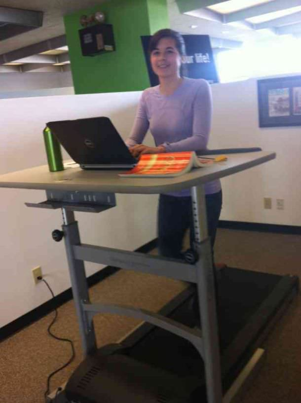 Stuff We Love The LifeSpan Treadmill Desk SparkPeople