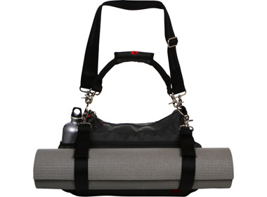 Trip To The Gym Or Studio With Its Customizable Strap Handle Options First Ever Quick Release Velcro Yoga Mat Solution And Removable Interior Divider