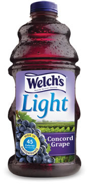 Welch s Light Concord Grape Juice Beverage SparkPeople
