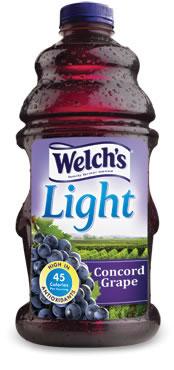Grape Juice Slow Juicer : Welch s Light Concord Grape Juice Beverage SparkPeople
