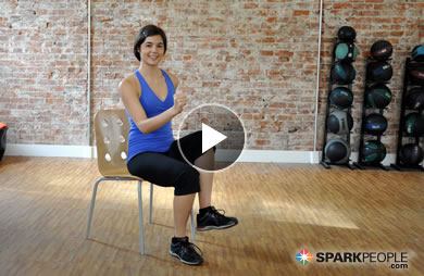 11Minute Chair Cardio Workout Video