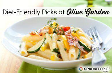 Diet Friendly Dining Olive Garden SparkPeople
