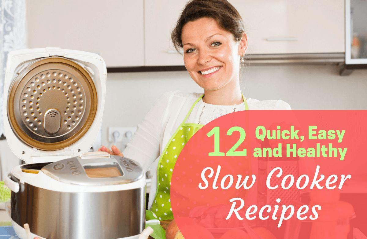 Slim down suppers healthy slow cooker meals sparkpeople Quick and healthy slow cooker recipes