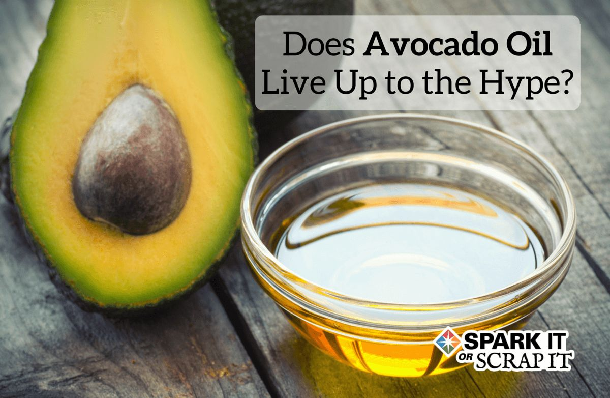 spark it or scrap it can avocado oil improve your health sparkpeople. Black Bedroom Furniture Sets. Home Design Ideas