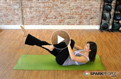 Printable 12 Minute Pilates Abs Workout Sparkpeople