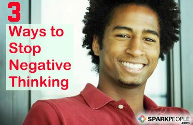 how to stop thinking about something negative