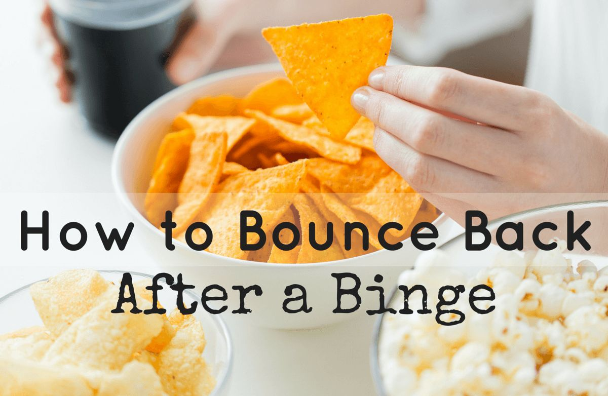 how to lose weight after a 2 day binge