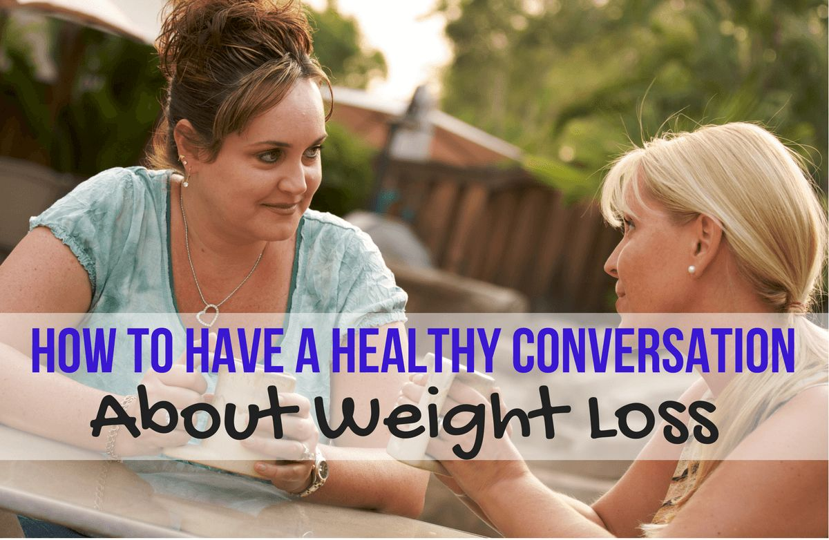 how to train someone to lose weight