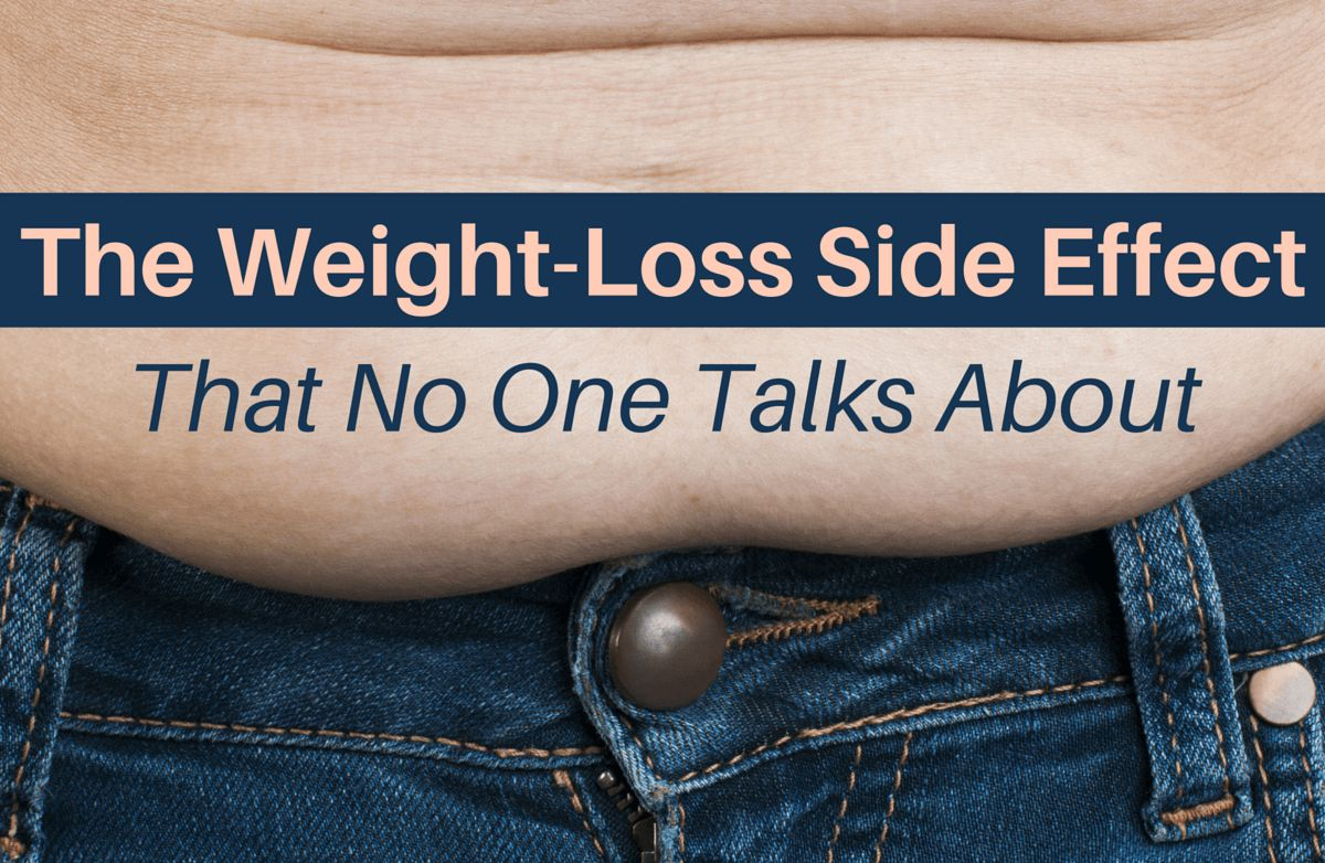 The Weight Loss Side Effect That No One Talks About