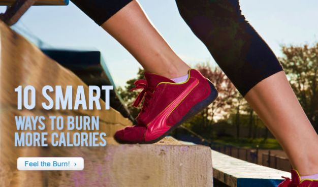 10 Smart Ways to Burn More Calories