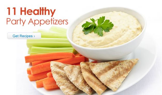 11 Healthy Party Appetizers
