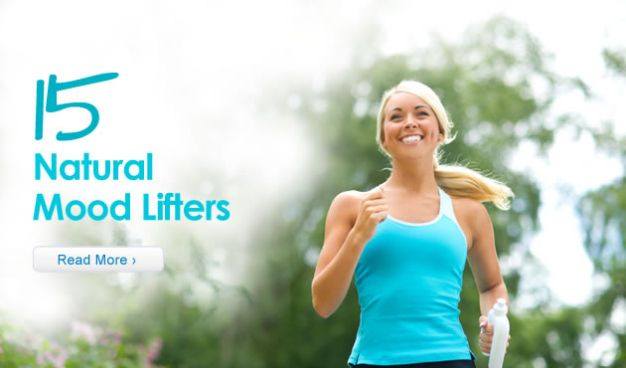 15 Natural Mood-Lifters