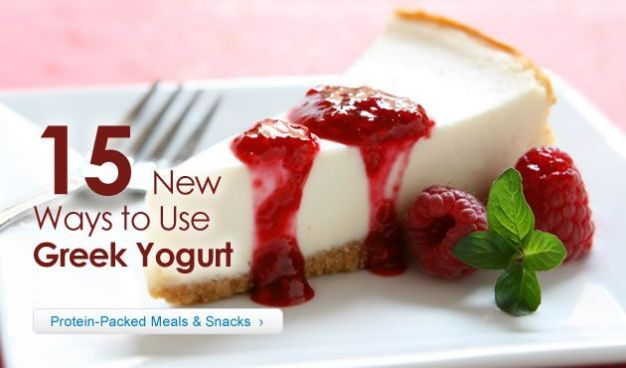15 New Ways to Use Greek Yogurt