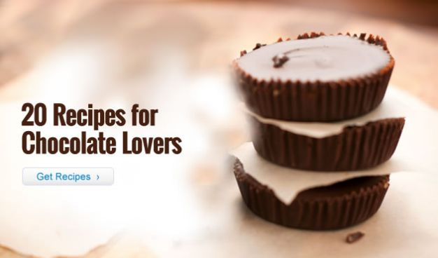 20 Recipes for Chocolate Lovers