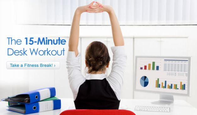 The 15-Minute Desk Workout