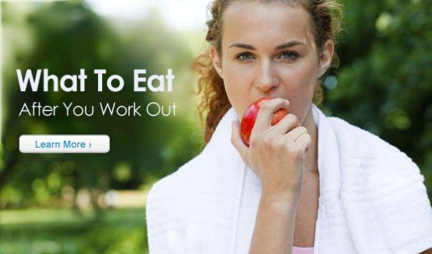 What to Eat After You Work Out